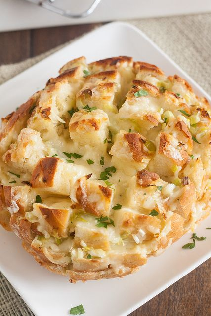 Cheesy Party Bread by Tracey's Culinary Adventures @Tracey's Culinary Adventures I Tracey Wilhelmsen