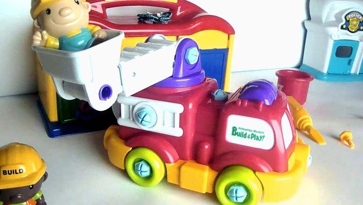 Пожарные машины. Автомастерская. Видео про машины. Fire truck for children
