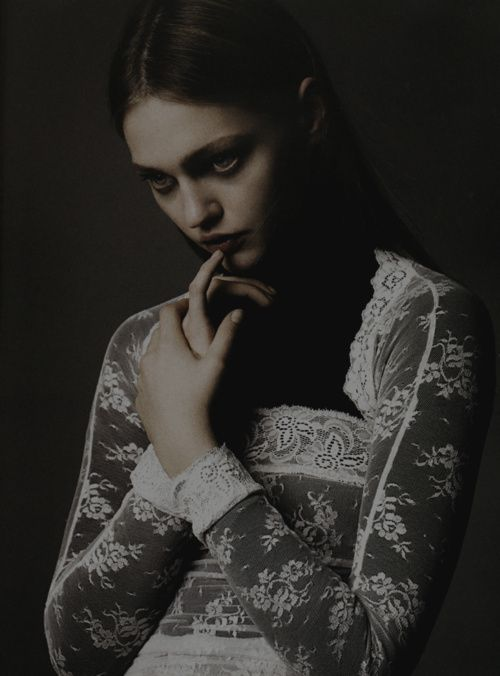 Sasha Pivovarova by Greg Kadel for Numéro No. 73, May 2006
