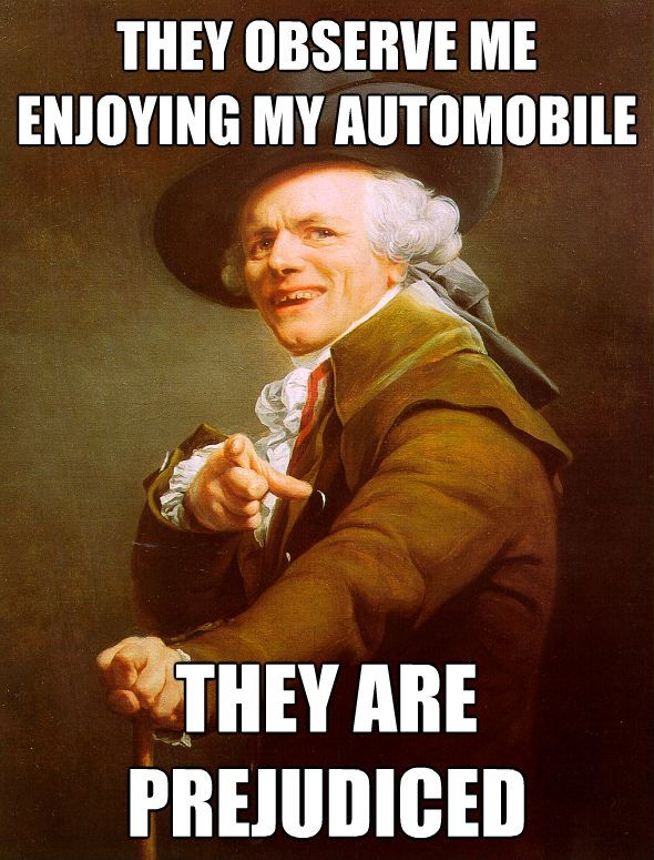 They see me rollin' they hatin'Memes,  Dust Jackets, Josephducreux, Joseph Ducreux, Funny Stuff,  Dust Covers, So Funny, Book Jackets,  Dust Wrappers