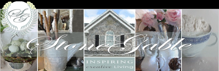 ►Stone Gable--This blogger returned in February--good news because menus and recipes are exceptional.  Pretty blog.