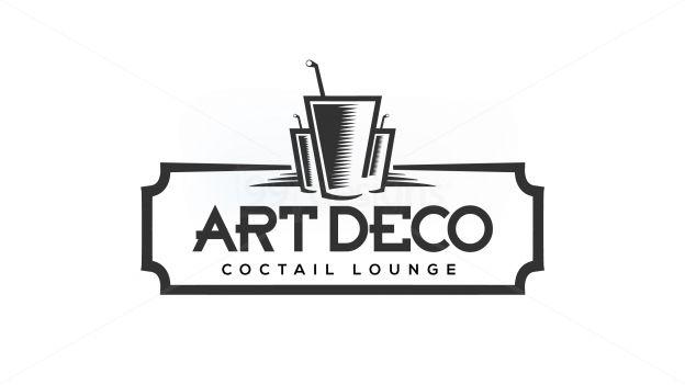 art deco ready made logo designs 99designs logo. Black Bedroom Furniture Sets. Home Design Ideas