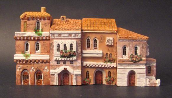 Miniature casette Venezia Mini terre   (casette in miniatura Miniterre , miniature, mini, terre, land, miniterre, casette, creta, hobby, little houses, mini land, Venezia)