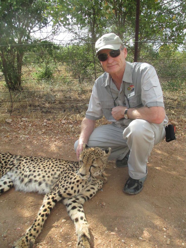 A special moment with Cheetah.