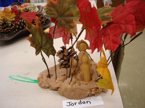 Autumn Playdough Provocations | The Curious Kindergarten ≈≈