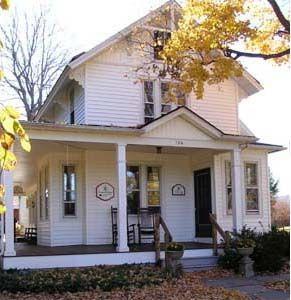 white batten board farmhouses | 124 West Delaware Avenue, Pennington Borough NJ, pbnj1890