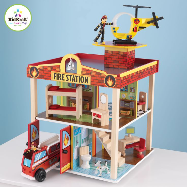 Kids Toy - Kids Fire Station Set Like this item, please visit here for more detail and best price! even more choice there