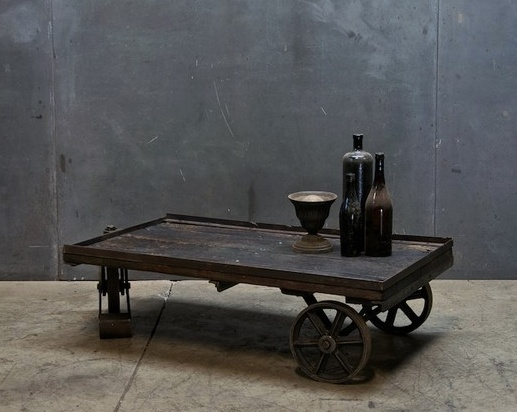 Utilitarian and with a history...could use in my barn.  For so many purposes...book shelf...holder for memorabilia...work table for grands...a simple candle in a simple iron holder with few sprigs of outdoors lying free in the soft light...etc... K.W.
