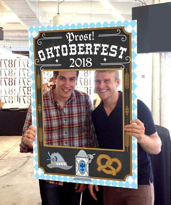 2019 Oktoberfest Photo Prop – Prost! – Oktoberfest – 24×36 Digital File – Instant Download – German Beer – Biergarten – Print Available