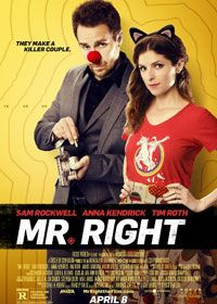 Watch Mr Right 2015 Online Free Download Movie HD Click Here >> http://www.hdmoviesjunction.com/mr-right-2015-online