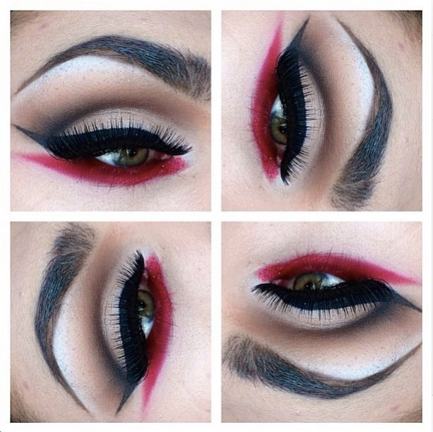 Pirate makeup idea.