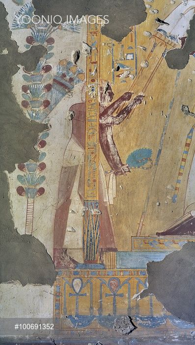 17 best images about egypt tombs scenes on pinterest a for Egypt mural painting
