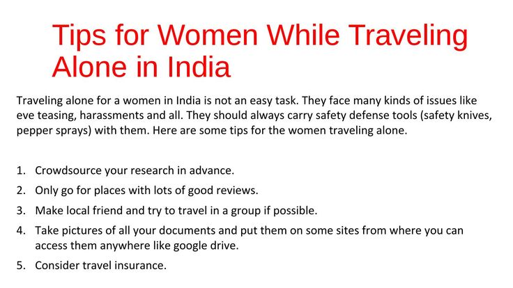 Safety Tips for Women While Traveling Alone #travelsafety #Womensafety #travelingtips
