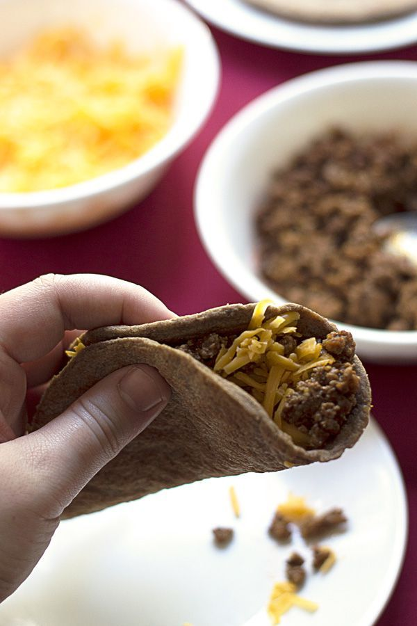 Gluten Free Low Carb Tortillas   a deliciously high fiber low carb tortilla recipe for those that are also looking for a gluten free tortilla option. An easy to make low carb meal idea for taco night! Pin now to make later!