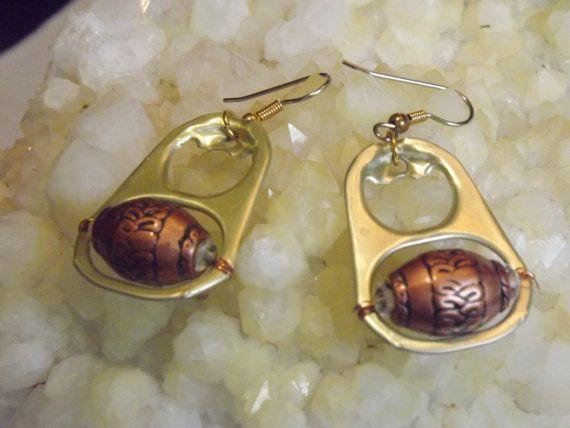 Pop-tab earrings
