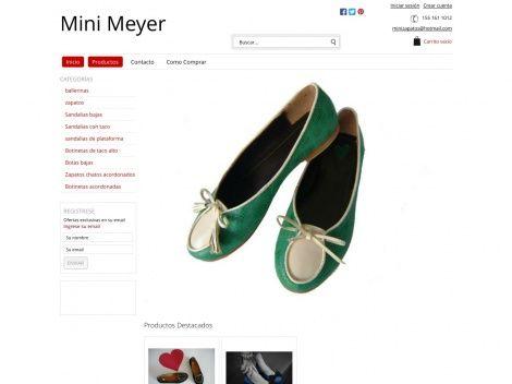Mini Meyer Zapatos: emprendimiento que crea zapatos atemporales y muy femeninos...