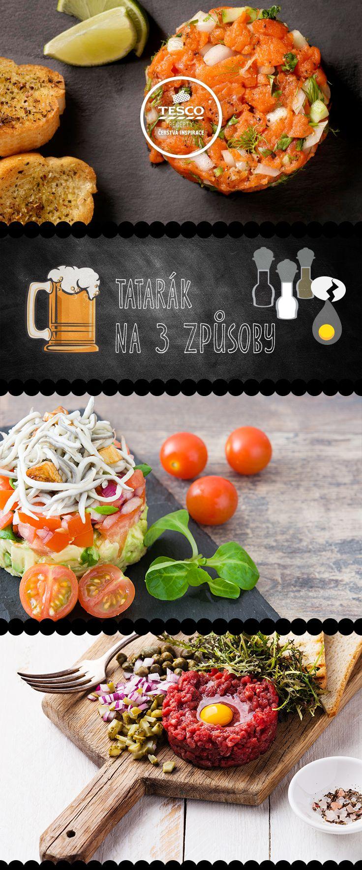 Je libo tatarák? Připravte si jej podle našich receptů.