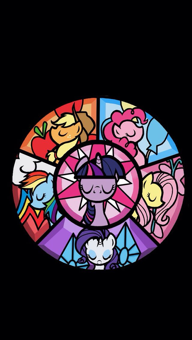 This came from my little pony wall papers. So just saying there are a bunch of of other cool ones so download it GO RAINBOW DASH and APPLEJACK