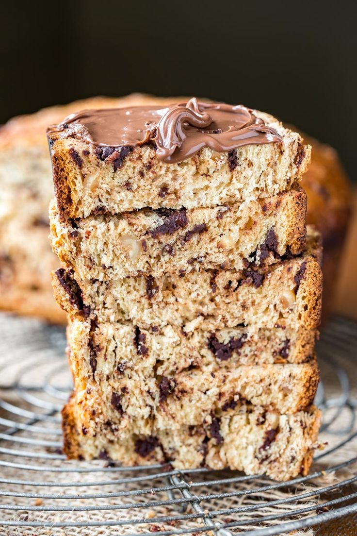Chocolate Hazelnut Bread