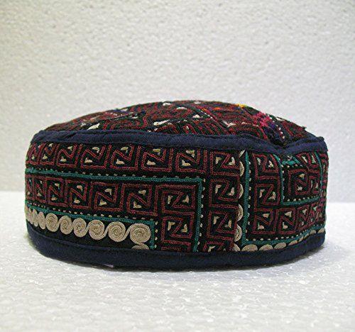 Antique turkoman super fine embroidery hat turkish beret ... http://www.amazon.com/dp/B01F02WUM8/ref=cm_sw_r_pi_dp_gYnjxb01K6VGG