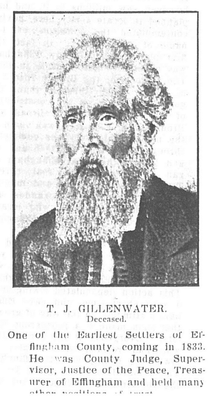 Illinois effingham county teutopolis - One Of The Earliest Settlers Of Effingham County Coming In 1833 He Was County