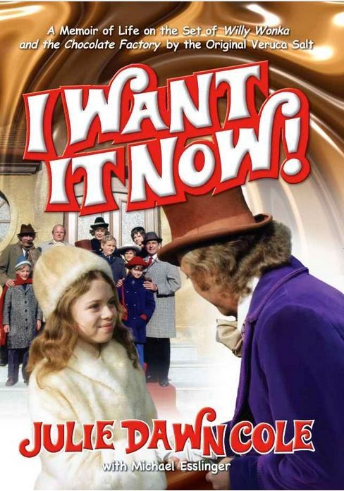 Memoir of the making of Willy Wonka by the actress who played Veruca Salt