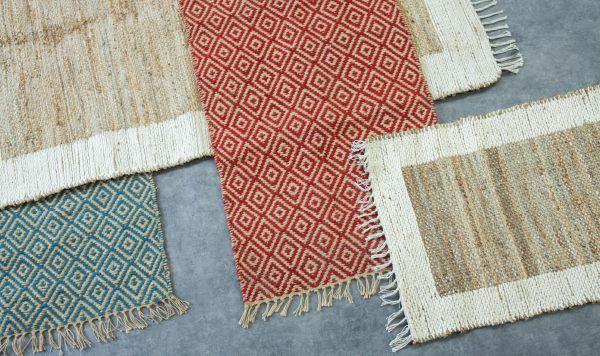 A range of Jute rugs in store now! #design #homeware