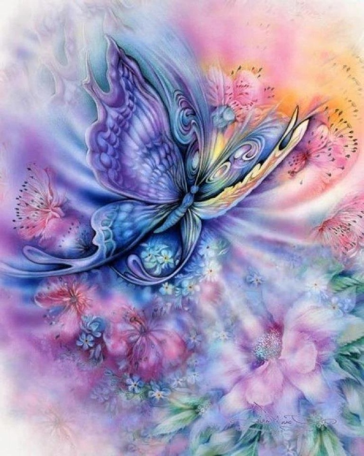 30 best mystical butterflies images on pinterest - Mystical background pictures ...