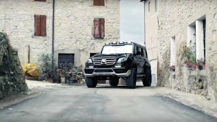 Mercedes Classe G by Ares Design