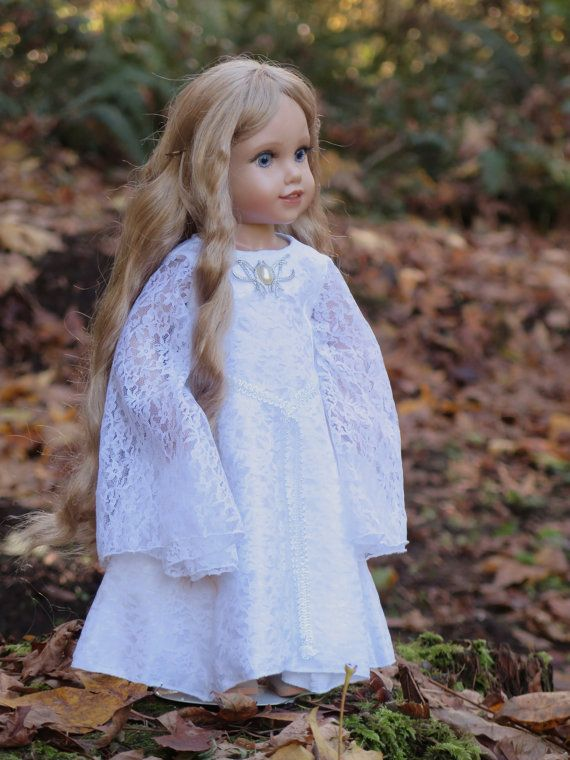 18 Inch Doll Galadriel Dress LOTR Galadriel von RainbowLilyDesigns
