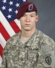 Army Pfc. Richard L. McNulty III. Died May 13, 2012. Serving during Operation Enduring Freedom. 22, of Rolla, Missouri; assigned to 425th Brigade Special Troops Battalion, 4th Brigade Combat Team (Airborne), 25th Infantry Division, Joint Base Elmendorf-Richardson, Alaska. Died in Bowri Tana, Afghanistan, when the enemy attacked his vehicle with an improvised explosive device.