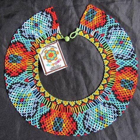 e3748c2360f5 Collar  mostacilla  challenge  follow4follow  colores  indigena  embera Collares  Étnicos