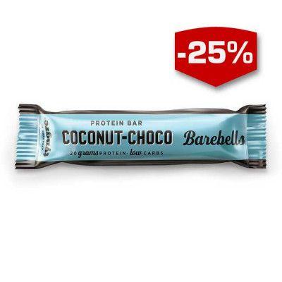 Barebells Proteinbar kommer i 3 otroligt goda smaker men även ett otroligt innehåll. På 200 kcal får du i dig 20 g protein vilket gör denna till ett perfekt val efter träningen eller till mellanmål! Låda med 12st.