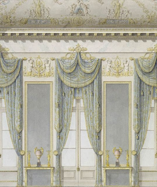 84 best images about 18th century design on pinterest for 18th century window treatments