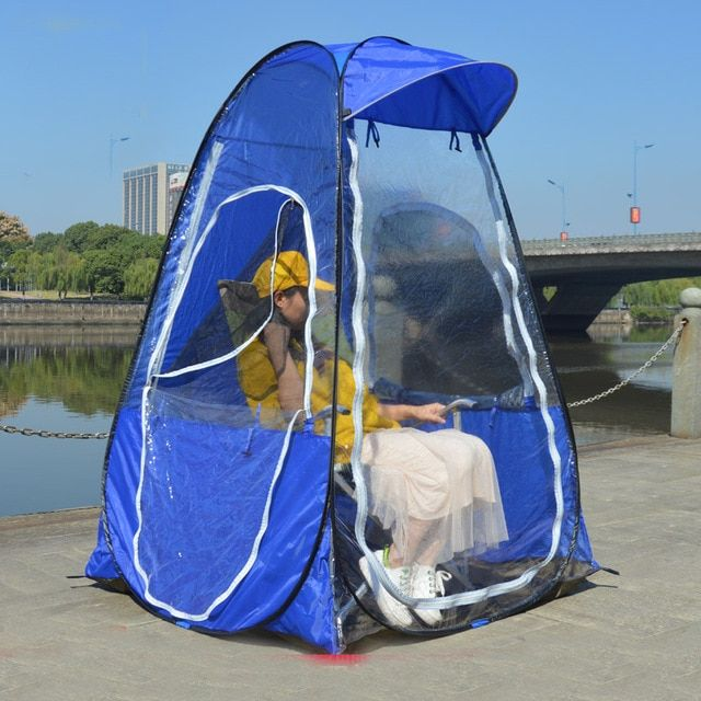Single Person Fishing Portable Outdoor Pop Up Tent With Uv