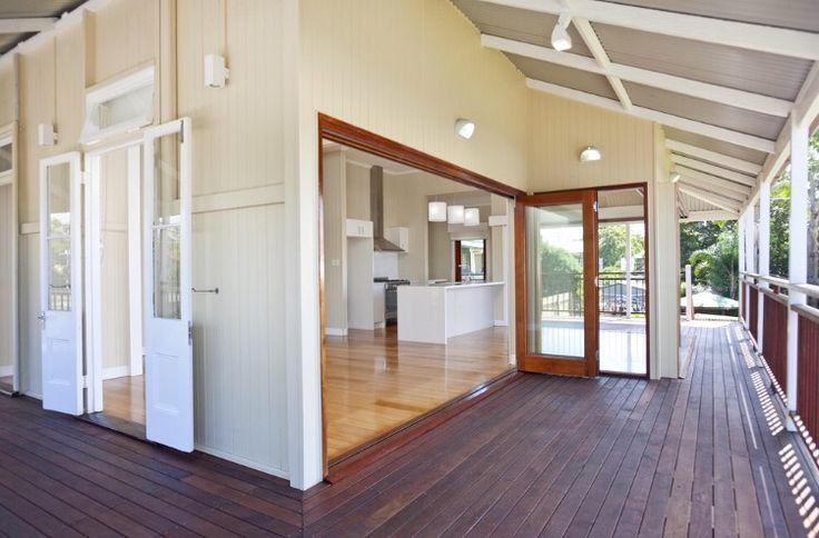 Queenslander home verandah