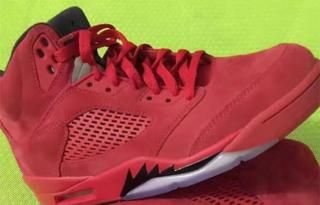 The Air Jordan V 'Red Suede's Is Set To Drop In July