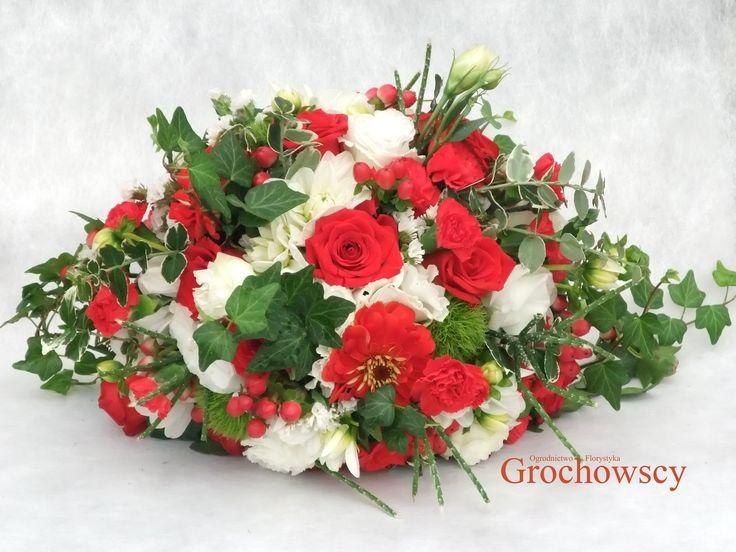 boho bukiet ślubny biało-czerwony bukiet ślubny Człuchów #bohowedding #bohobouquet #boho #red #white #redwhite #weddingbouquet