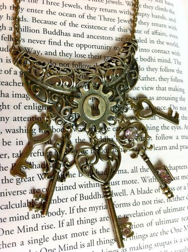Old Keys I like | The Queen of Keys Necklace.