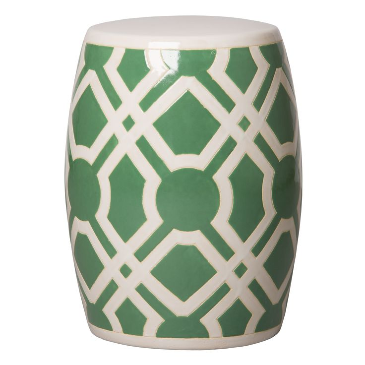 Labyrinth Garden Stool