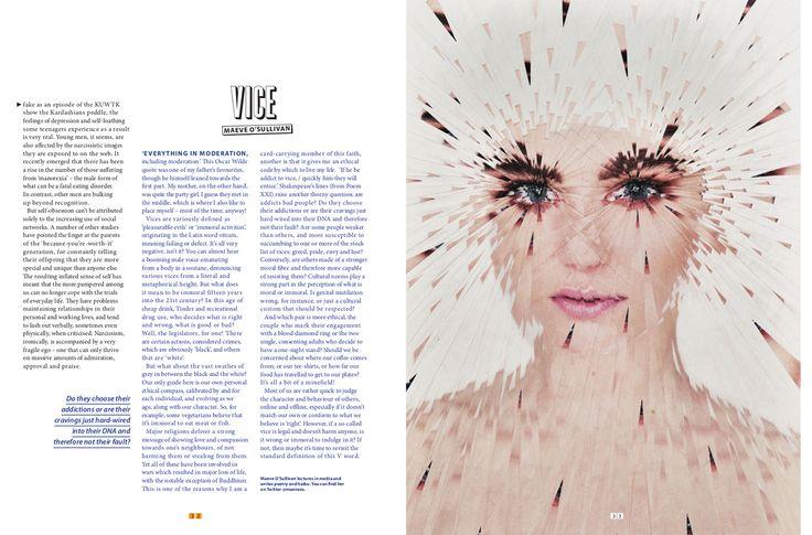 Collaborative editorial project for Cult Magazine.