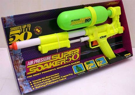 super soakers - where did they go?