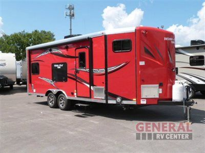 New 2015 Forest River RV Work and Play 21VFB Toy Hauler Travel Trailer at General RV | Brownstown, MI | #113472