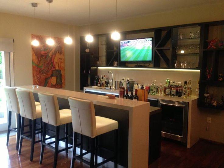 M s de 1000 im genes sobre cantina en casa en pinterest - Barras de bar para salon ...