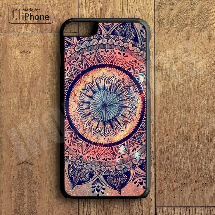 Mandala Plastic Case iPhone 6S 6 Plus 5 5S SE 5C 4 4S Case Ipod Touch 6 5 4 Case