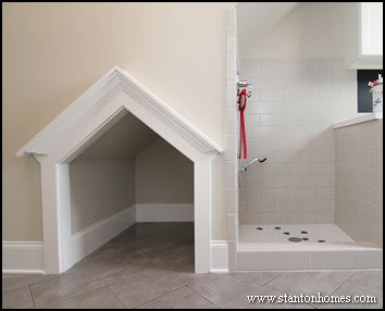 custom outdoor shower indoors | New Home Tips, Trends, and Ideas - Raleigh Custom Home Builders