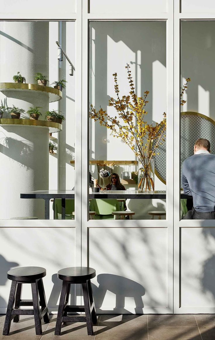 Kettle Black Cafe in Melbourne by Studio You Me | Yellowtrace