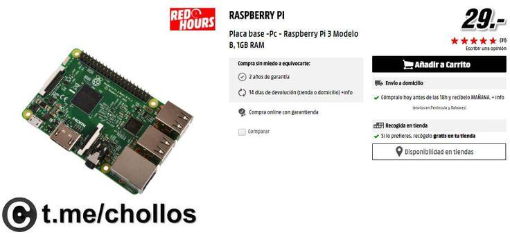 Raspberry Pi 3 Model B por sólo 29 - http://ift.tt/2lXGzHQ