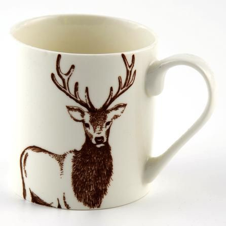 Woodland Animal Collection Stag Mug #Dunelm #cosy #kitchen