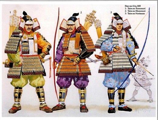 Samurai of Kamakura period.